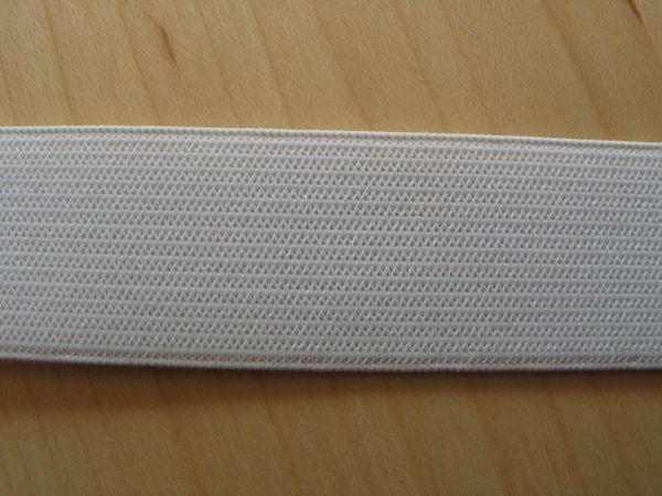 Prym - Elastic-Band weich, Gummiband 25mm weiß