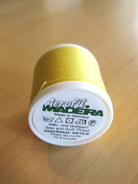 Madeira Aerofil, No.120 400m, Farbe 8229, sonnengelb