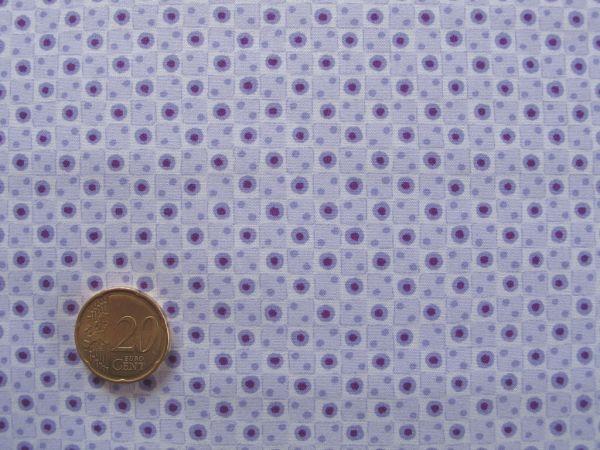 Hilco - Florencia Punkte mit Quadraten, flieder