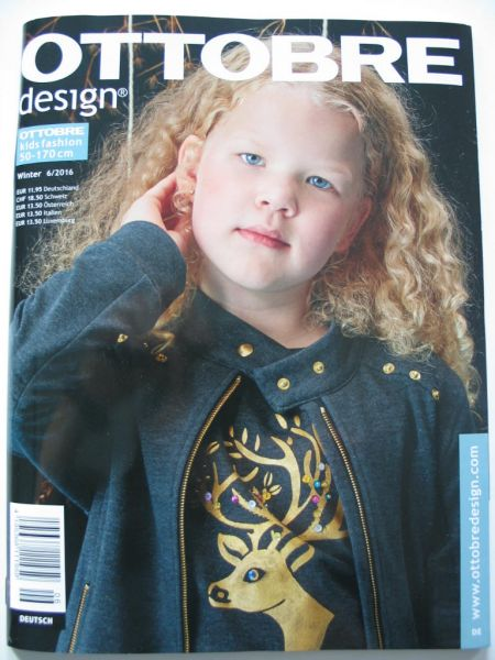 Ottobre Design Winter 6/2016, Kids Fashion, Gr. 50-170cm