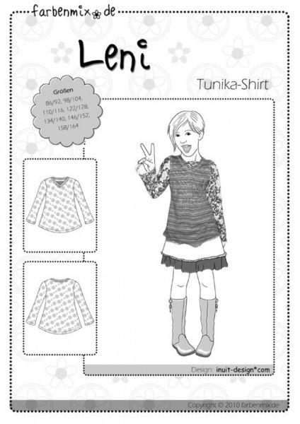 Farbenmix - Tunika-Shirt LENI, Schnittmuster