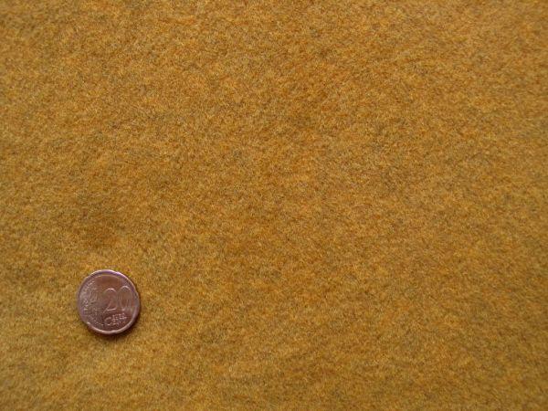 Hilco - Fleece, senf, Reststück 121cm