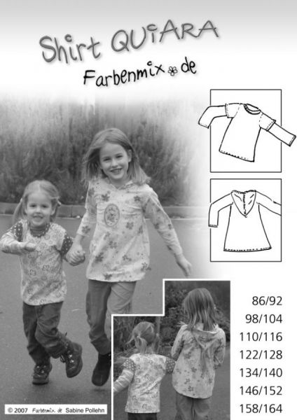 Farbenmix - Shirt Quiara, Schnittmuster