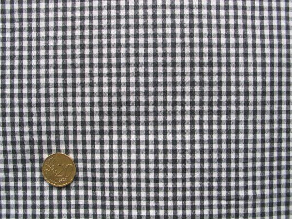 Hilco - Vichy-Karo, schwarz-weiß
