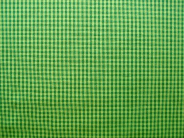 Hilco - Hilde Vichy-Karo, dunkelgrün-hellgrün