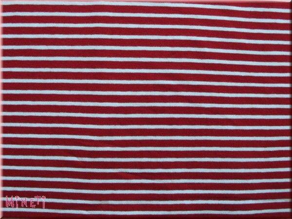 Hilco - Streifenjersey Campan, rot-weiß