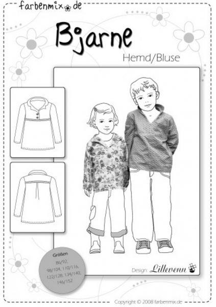 Farbenmix - BJARNE Hemd/Bluse, Schnittmuster