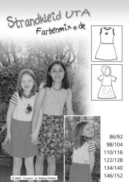 Farbenmix - Strandkleid Uta, Schnittmuster