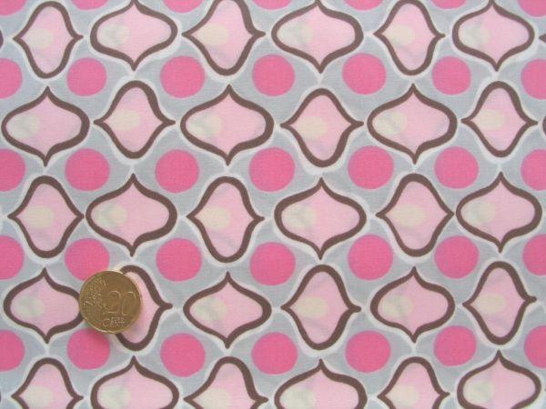 Hilco - Jackenstoff Dele Ojo Rain, rosa