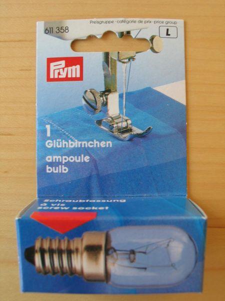 Prym Glühbirnchen 15W, Schraubfassung