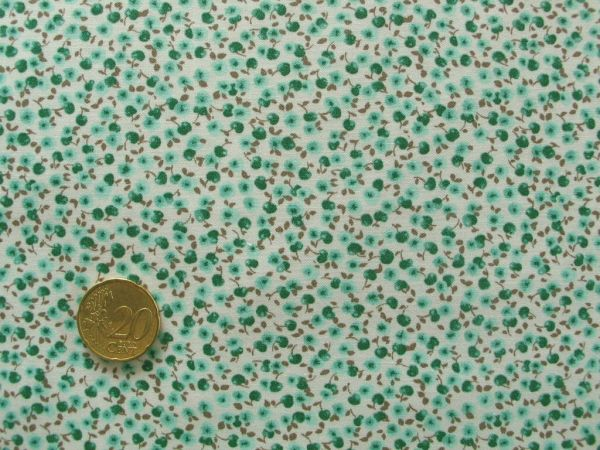 Hilco - Florencia Blumen, türkis-grün