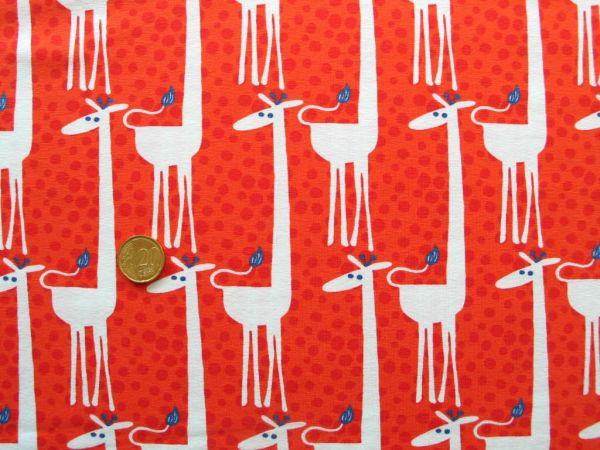 Hilco - Stretch-Jersey Shirt Girafe, orange