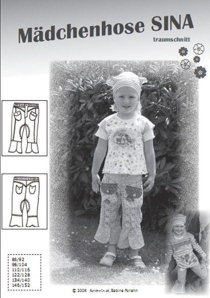 Farbenmix - Mädchenhose SINA, Schnittmuster
