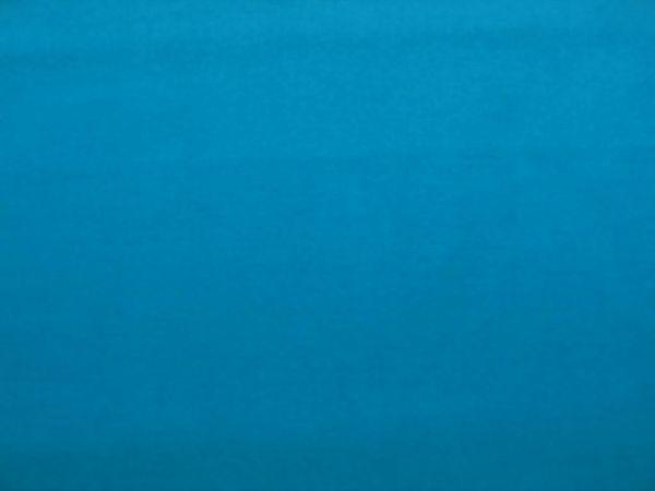 Hilco - Baumwollpopeline uni Pop, azurblau