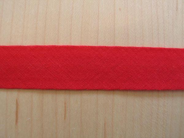 Baumwoll Schrägband 40/20mm rot