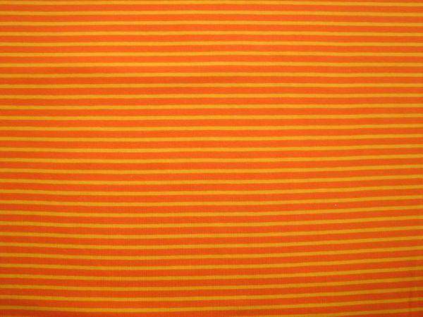 Hilco - Streifenjersey Campan, orange-gelb