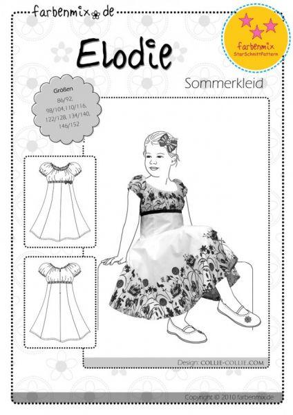 Farbenmix - Sommerkleid ELODIE, Schnittmuster, StarSchnitt