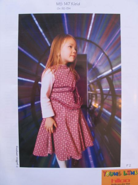 Monny Schnitt - Kleid mit Godets, Gr. 92-134