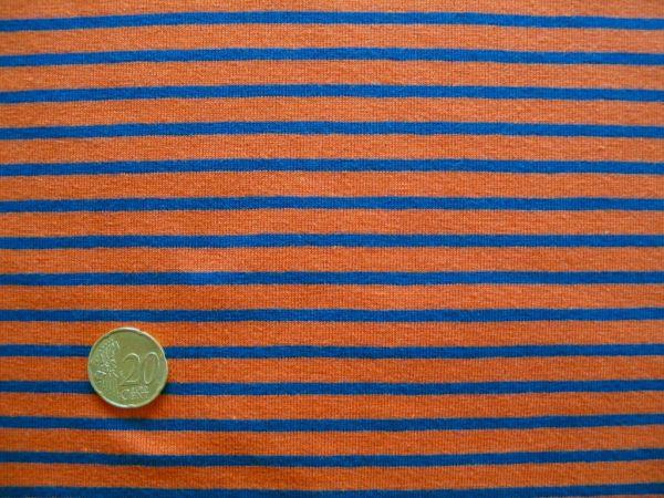 Hilco - Streifenjersey Campan, orange-blau