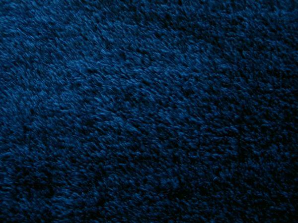 Hilco - Plüsch Chacky, jeansblau