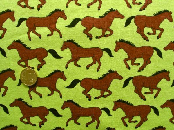 Hilco - Stretch-Jersey Corsa di cavalli, lemon