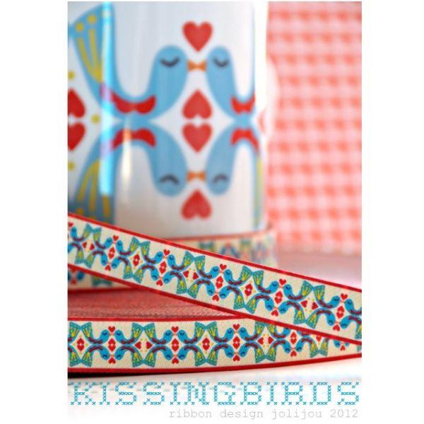 Farbenmix - KissingBirds, Webband