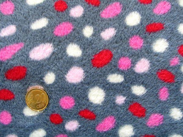 Hilco - Fleece Dotty Sari, grau