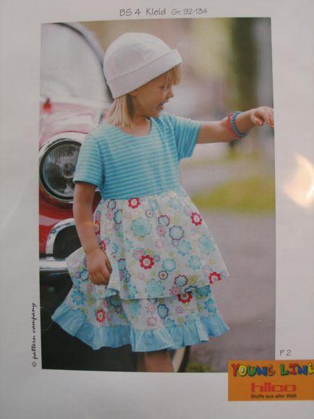 Pattern Company - Kleid mit Volant, BS 4