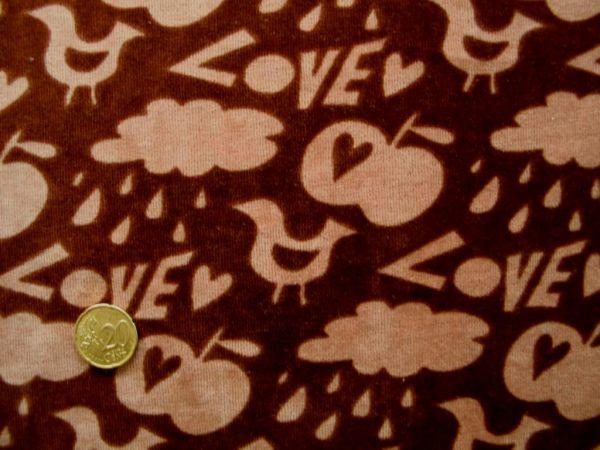 Hamburger Liebe - Nicky Love Stuff, schoko-hellbraun
