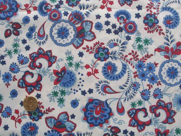 Hilco - Baumwollpopeline La Mancha, blau
