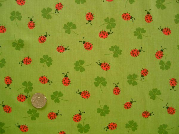 Hilco - Baumwollpopeline Mariquita, grün
