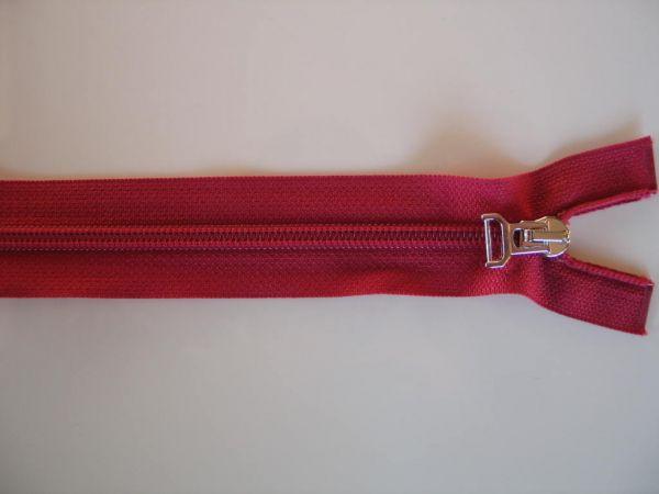 Reißverschluß Spirale teilbar, Kunststoff, bordeaux, 70cm