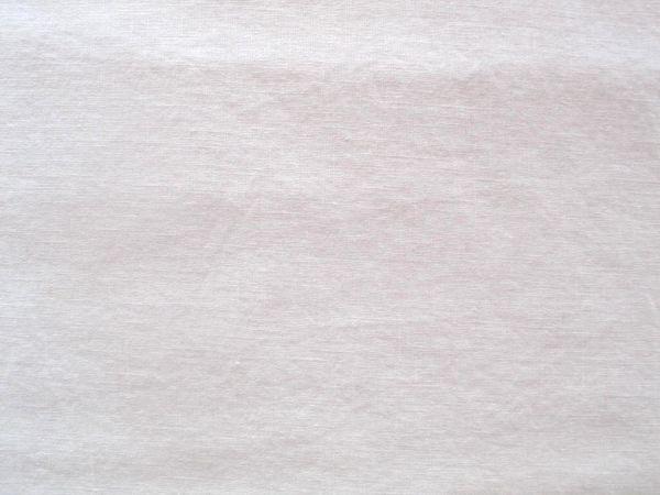 Hilco - Enzym washed Leinen, reinweiß
