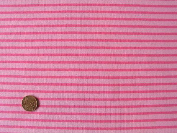 Hilco - Streifenjersey Campan, hellrosa-rosa