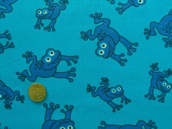 Hilco - Stretch-Jersey Jimmy Frog-Shirt, blau
