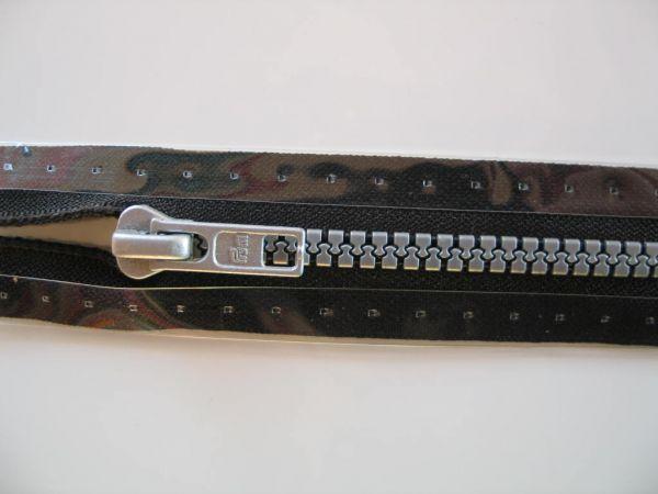 Prym - Reißverschluß RV S4 Profil tb Kunststoff 40cm, schwarz
