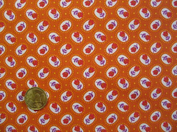 Hilco - Hilde Baumwollpopeline, orange
