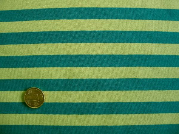 Hilco - Streifenjersey Campante, petrol-hellgrün