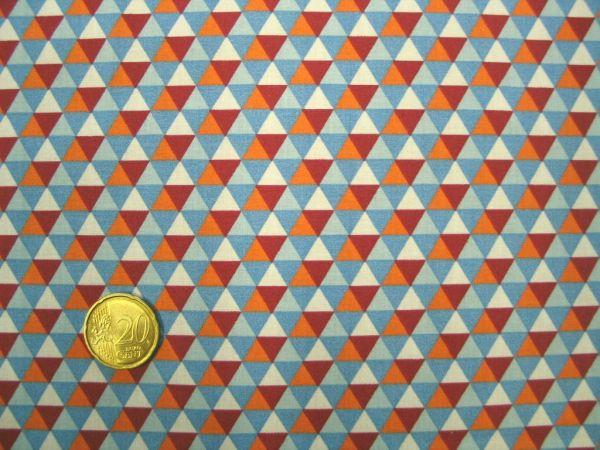 Hamburger Liebe - Fly Mini Hex, hellblau-orange, Rest 39cm