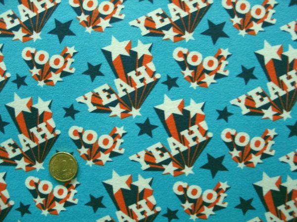 Hamburger Liebe - Stretchjersey Yeah boy, blau-orange