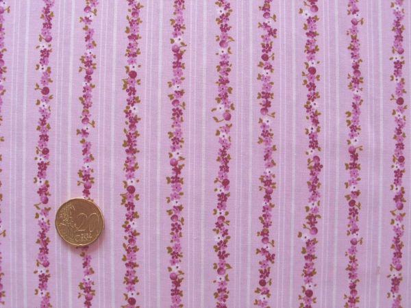 Hilco - Florencia Streifen, rosa-beere