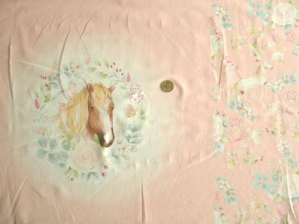 Hilco - Stretch-Jersey Horse Panel, apricot